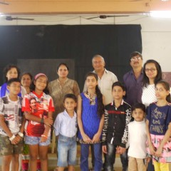 Drawing Competition – Life in Matharpacady Village