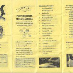PDDM Holistic Health Centre